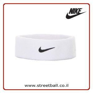 מגן זיעה לראש נייקי לבן – Nike Head Sweat Band – White